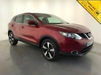 2015 NISSAN QASHQAI N-TEC DCI DIESEL 1 OWNER SERVICE HISTORY FINANCE PX WELCOME