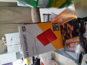 My passport portable hard drive