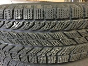 Winter tires.  BF Goodrich Winter Slalom tires.  Set of 4 tires