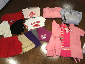 Girls clothes 5T —— 22 items. $60