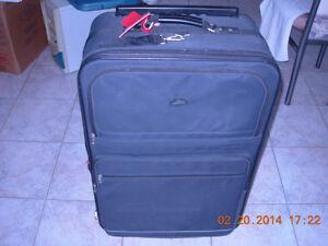 """Grande valise Skyway 31""""h roues extensible poignees sur cote ret"""
