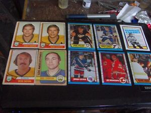 old hockey cards