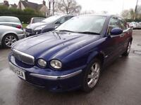 JAGUAR X-TYPE 2.0 D SE~53/2003~4 DOOR SALOON~STUNNING METALLIC BLUE