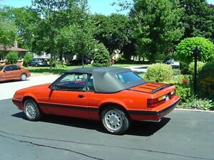 1986 Ford Mustang LX Convertable