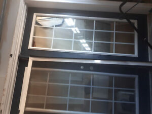 Exterior double doors with frame for $750