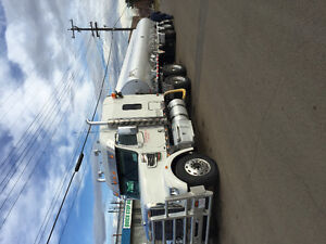 Truck for sale with job.