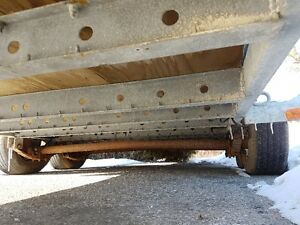 6' x 16' Flatbed Trailer Kitchener / Waterloo Kitchener Area image 3