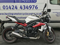 Triumph Street Triple 675R / ST675R / ST675 / Nationwide Delivery / Finance