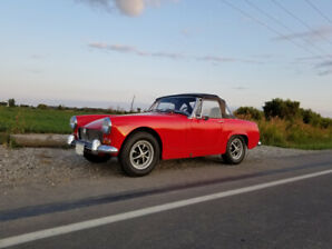 Classic Car For Sale 1969 MG Midget