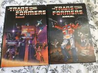 2 x 1980s Transformers annuals