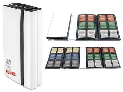 Ultra Pro  480 Card 4-Up  Pro-Binder Playset Book Album  WHITE 84604 AW5189