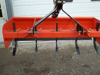 "New 3pt Hitch Box Blades 48"" to 96"""