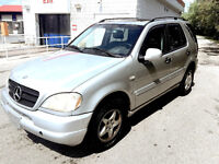 2001 MERCEDES ML 320..FULLY LOADED..MINT CONDITION!!