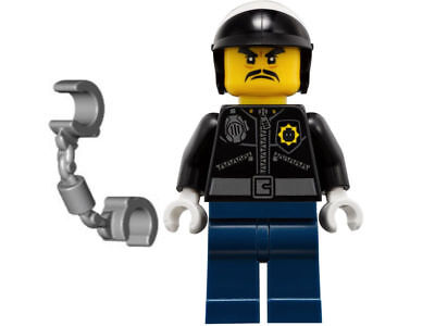 Authentic New LEGO Ninjago Movie Officer Toque - 70607 | MINIFIG ONLY!