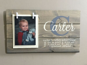 Unique and Personal Baby Name Sign