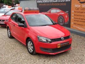 VOLKSWAGEN POLO 1.2 S 3dr Red Manual Petrol, 2012