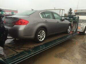 Parting out 2009 Infiniti G37x