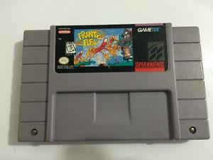 Frantic Flea SNES Game Nintendo