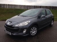 2009 PEUGEOT 308 S 1.6 HDI 90PS - 82K MILES - F.S.H - 5 STAR SAFETY RATING - 3 MONTHS WARRANTY