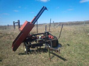 Silver Lake post pounder