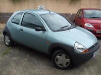 Ford Ka 1.3 1297cc 2002MY NEW MOT DRIVES PERFECT PART EX TO CLEAR BARGAIN