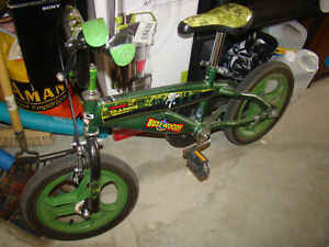 kid's  toy storey green  mountain  bike