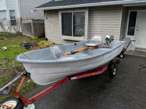 Boat, Trailer and Motor