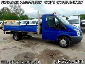 2011 FORD TRANSIT LWB EXTENDED FRAME, 13FT BACK, ALLOY TAIL LIFT, TOW BAR, F.S.H