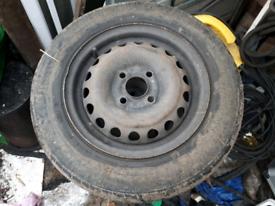 Wheels with tyres - steel 13in x 5J - trailer