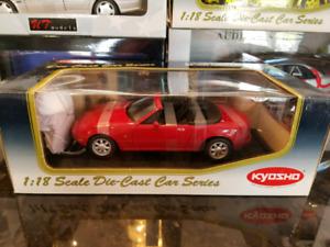 1:18 Diecast Kyosho Mazda MX-5 Miata Red BNIB