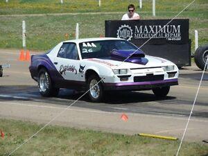 drag race car