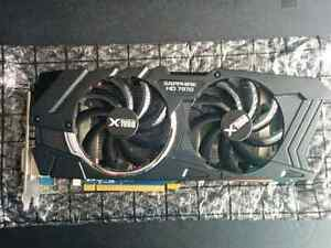 Sapphire Radeon HD 7970 Dual-X Graphics Card Kitchener / Waterloo Kitchener Area image 1