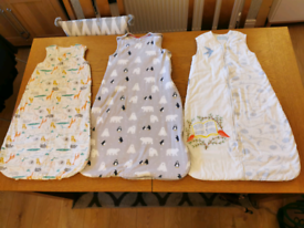 Baby sleep bags mixed brands size 6-18 month