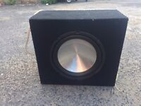10 inch mac audio subwoofer with box