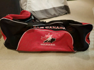 Team Canada Wheeled Hockey Bag