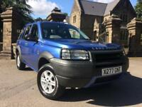 2001 (X) Land Rover Freelander 1.8 GS ** Fantastic Condition **
