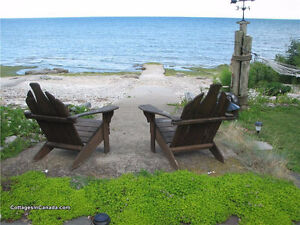 Cozy yearround lakefront home on Lake Erie, with rental income