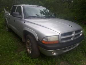 2002 Dodge dakota 4 door extended cab