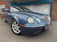 Jaguar S-TYPE 2.7D V6 automatic Diesel SE Blue 2004 (54)