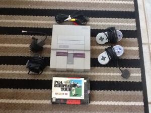 SUPER NINTENDO - NOT WORKING AS FAR AS I KNOW - AS IS