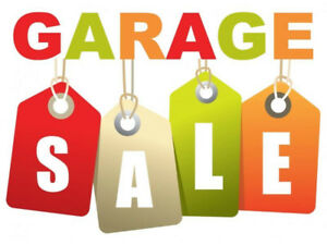 Garage Sale - Sept 22 and 23