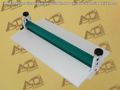 Intbuying New 25.5 Inch Manual White All Metal Frame Cold Laminator Machine