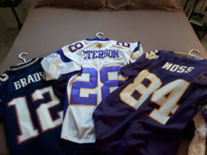 NFL jerseys Brady and peterson