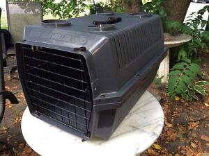"""Dog kennel / pet carrier 24"""" long 14.5 """" wide"""