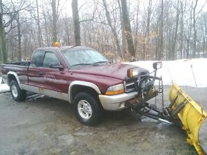 Dodge Dakota Pickup Truck Plow Truck