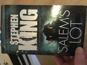 Salems Lot book by stephen king- new quality never been read