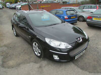Peugeot 407 SW 2.0HDi 136 2005MY Zenith