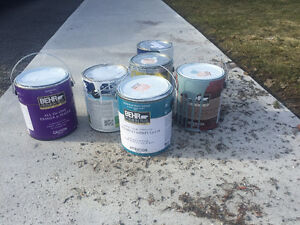Free Paint just put out at 140 Liddell Crescent