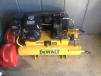 Dewalt Pro Gas Wheelbarrow Air Compressor