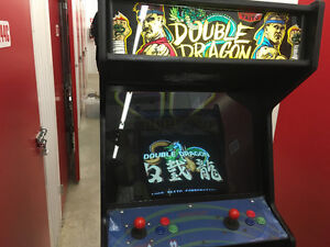 UPRIGHT DOUBLE DRAGON ARCADE CONSOLE